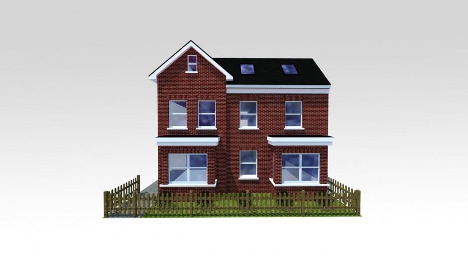 Concept CGI House
